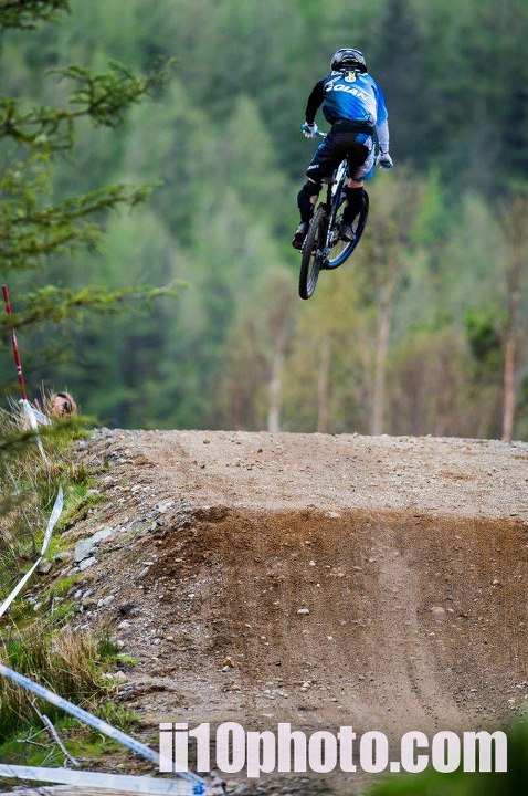 MTB The motorway section jumps at Fort William have been tweaked, expect big air time come the World Cup.