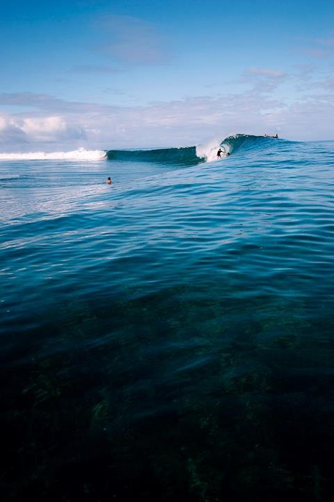 Surf This looks like a fun day Teahupoo