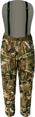Hunting Tailored for the crossbow hunter, the Scent-Lok Commando Crossbow Pants have a relaxed fit and articulated joints for optimal mobility. Carbon Alloy material reduces game-spooking odors. Silent polyester construction. The hook-and-loop-adjustable waist and removable suspenders ensure these pants stay put while youre stalking. Knee-length zippers for easy on and off over boots. Abrasion-resistant knees let you crawl over any terrain. Multiple pockets offer storage for essentials. Adjustable, low-profile cuffs designed to tuck into boots. 60-gram insulation. Imported.Inseam: 32.Sizes: M-2XL.Camo pattern: Mossy Oak Break-Up Infinity Size Large. Color Mo Break-Up Infinity. - $123.88