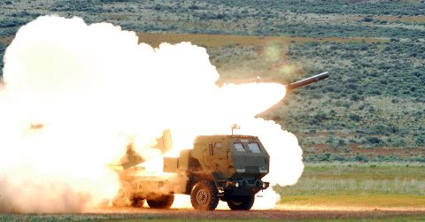 Guns and Military Transportable by the KC-130 Super Hercules, the High Mobility Artillery Rocket System (HIMARS) is the Marine Corps' most advanced artillery system, accurately engaging targets over great distances and under all weather conditions.