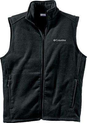 Wear the Mens Cathedral Peak II Vest from Columbia as a midlayer or for core warmth during brisk Fall days. Constructed of ultrathick, soft MTR Fleece to seal in your body heat. Full-zip front with stand-up collar. Zip-close security pockets. Imported. Sizes: M-2XL. Colors: Black, Charcoal Heather, Green Surplus. Size: 2 X-Large. Color: Charcoal Heather. Gender: Male. Age Group: Adult. Material: Fleece. Type: Vests. - $29.99