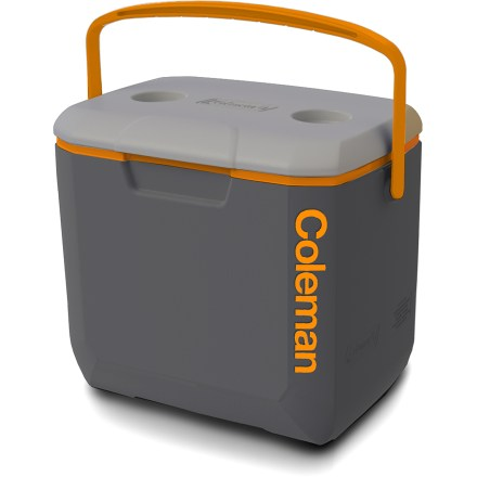 Camp and Hike Keep your beverages and tasty food cold and fresh on the way to your campsite or backyard barbecue in the 30 qt. Coleman Performance cooler. - $34.95