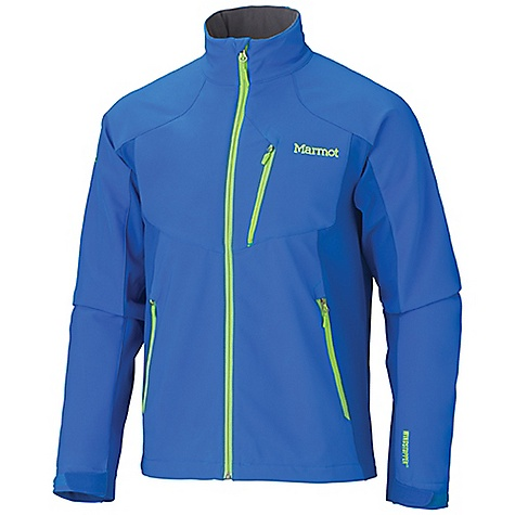 Free Shipping. Marmot Men's Prodigy Jacket DECENT FEATURES of the Marmot Men's Prodigy Jacket Gore Windstopper Marmot M2 Softshell Windproof, Water Resistant, and Breathable Zippered Hand Pockets Zippered Chest Pocket Internal Zippered Media Pocket DriClime Lined Collar Adjustable Velcro Cuffs Elastic Draw Cord Hem Angel-Wing Movement The SPECS Weight: 1 lb 5.5 oz / 609.5 g Center Back Length: 28in. Fit: Regular Windstopper Softshell 100% Polyester Stretch 8.7 oz/yd Softshell Double Weave: 50% Nylon, 43% Polyester, 7% Elastane 8.1 oz/yd - $199.95