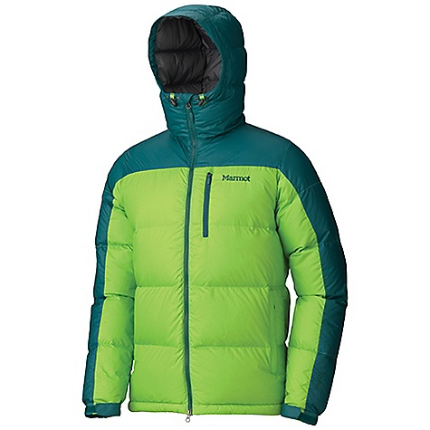 On Sale. Free Shipping. Marmot Men's Guides Down Hoody FEATURES of the Marmot Men's Guides Down Hoody Attached Down-Filled Hood 700 Fill Power Down with Down Defender Zippered Handwarmer Pockets Zippered Chest Pocket Interior Zippered Pocket Wind Flap Behind Front Zipper Adjustable Velcro Cuff Elastic Draw Cord Hem Angel-Wing Movement - $172.99