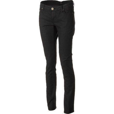 From classy clubs and fancy parties to backyard barbeques and summer school, always look your best in the Sitka Spruce Skinny Women's Denim Pant. A super low rise and a skinny fit keep you looking stylish, while stretch denim allows you to move comfortably. - $94.95