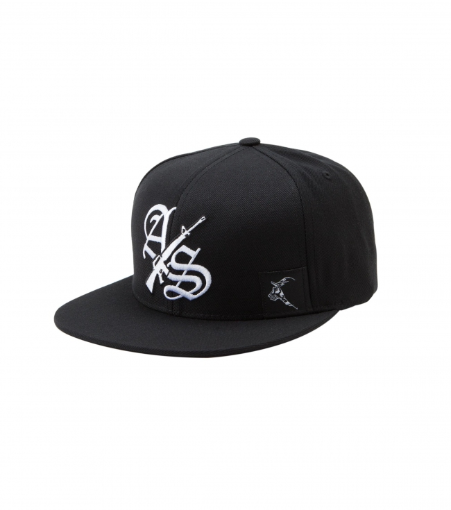 Motorsports Metal Mulisha Armed Society Mens hat.  80% Acrylic 20% Wool flexfit snapback cap with flat embroidery; woven label and undervisor screen. - $19.99