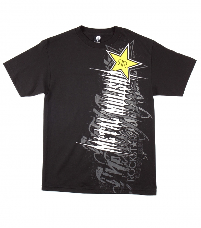 Motorsports Metal Mulisha Mens tee.  100% Cotton. Screenprint.Metal Mulisha Rockstar collaboration tee. - $18.99