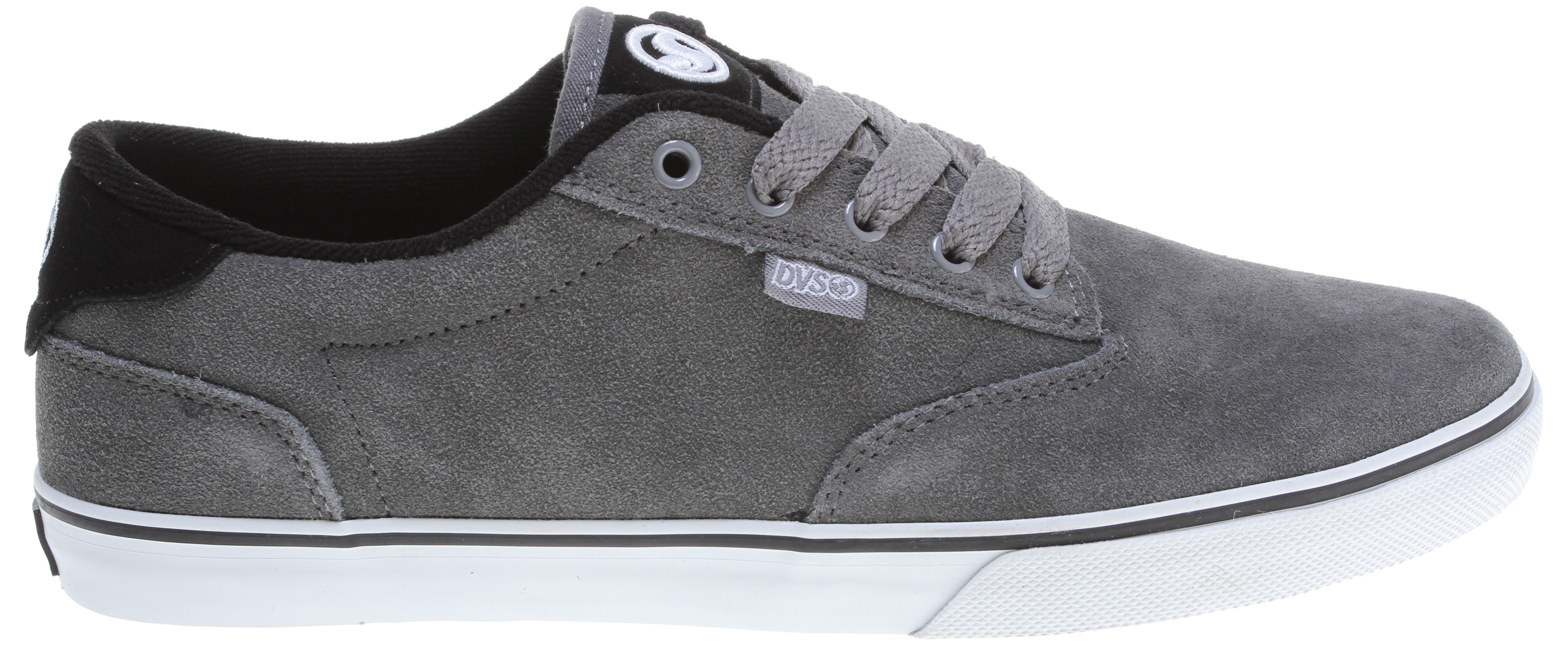 Skateboard Key Features of the DVS Daewon 12'er Skate Shoes: Daewon Song Signature Series Suede/Canvas Upper Material Slim Fitting Silhouette Perforated Tongue For Breathability Highly Flexible Lasting Board Non-Slip Vulcanized Outsole - $39.95