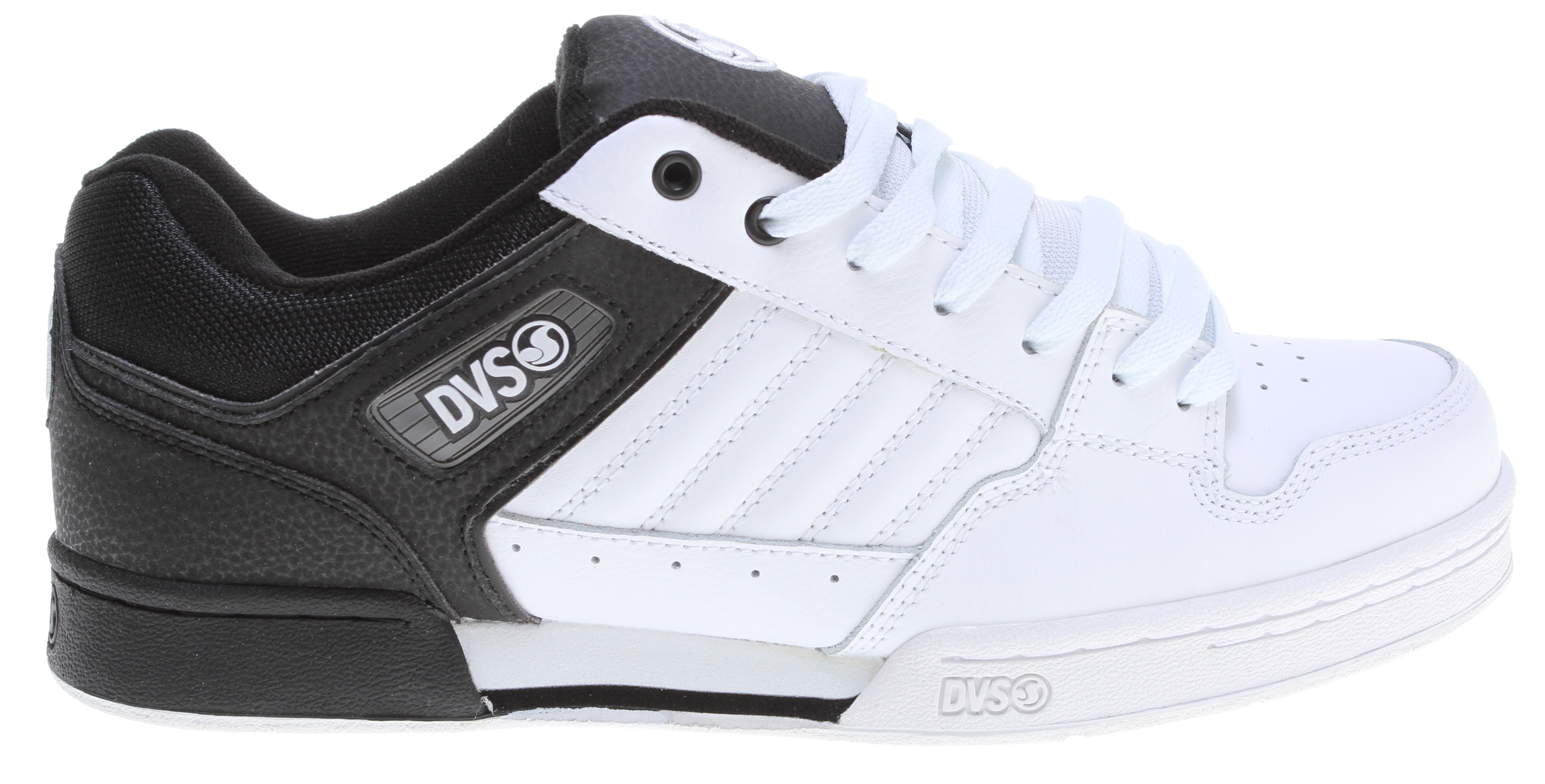Skateboard Key Features of the DVS Durham Skate Shoes: Leather/Nubuck/Suede upper material Ventilated mesh panels for breathability High density collar & tongue padding for support High impact insole & midsole unit - $45.95