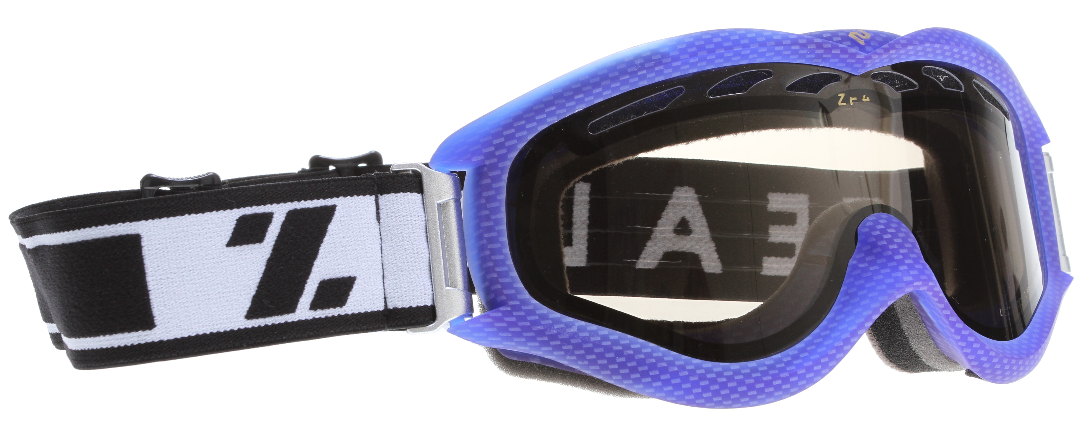 Ski Key Features of the Zeal Detonator Goggles: ZB Polarized lens enhances vision and reduces eye strain Air intake boosters increase ventilation around the lens to fight fog 100% UV protection Triple-layer fleece face foam is soft on skin Adjustable, grippy strap Helmet compatible Fit: Large - $95.95
