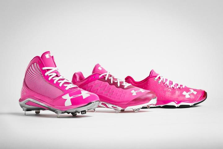 Sports A few of the different styles you'll see out on the field for Mother's Day
