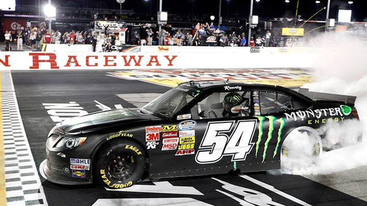 Motorsports Kyle Busch celebrated another victory in Darlington earlier this weekened at the NASCAR Nationwide Series!