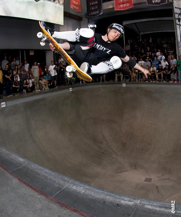 Skateboard Pro division 10th Place - Georgio Zattoni - See more at http://vans.com/poolparty - Photo: MRZ