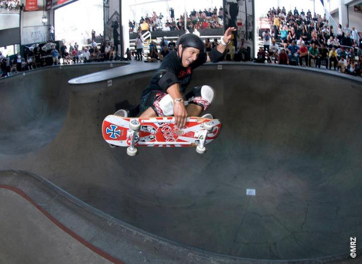 Skateboard Masters division 3rd Place - Christian Hosoi - See more at http://vans.com/poolparty - Photo: MRZ