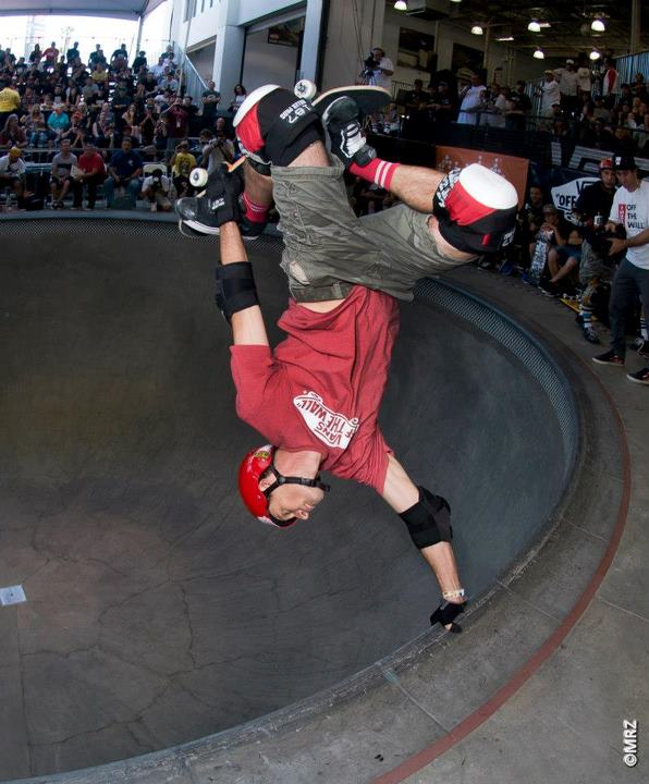 Skateboard Masters division 4th Place - Mike Mcgill - See more at http://vans.com/poolparty - Photo: MRZ