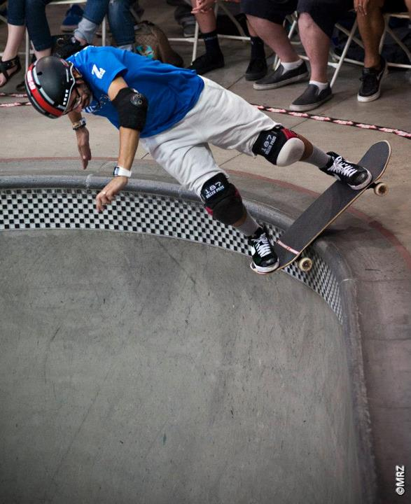 Skateboard Masters division 5th Place - Eddie Elguera - See more at http://vans.com/poolparty - Photo: MRZ
