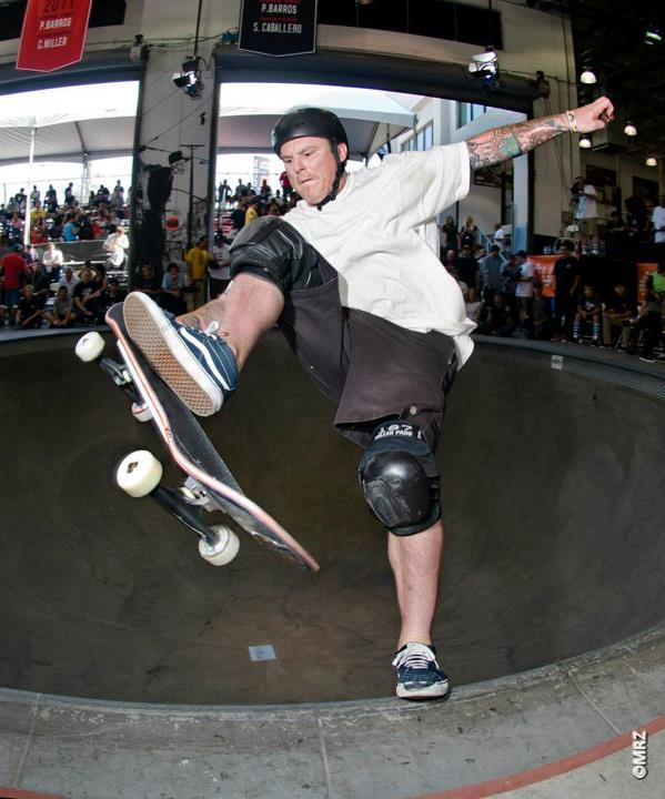Skateboard Masters division 6th Place - Jeff Grosso - See more at http://vans.com/poolparty - Photo: MRZ