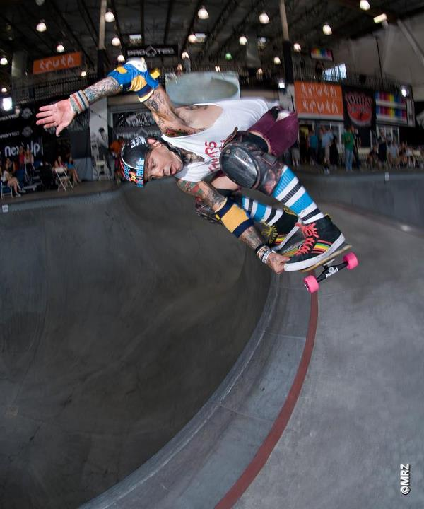 Skateboard Masters division 9th Place - Duane Peters - See more at http://vans.com/poolparty - Photo: MRZ