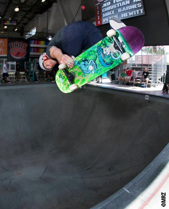 Skateboard Masters division 10th Place - Rob Sluggo Boyce - See more at http://vans.com/poolparty - Photo: MRZ