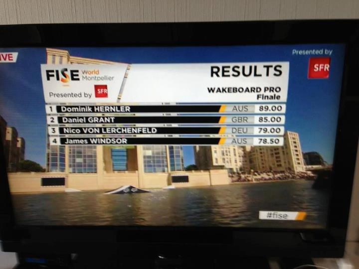 Wake Here is the final results from FISE