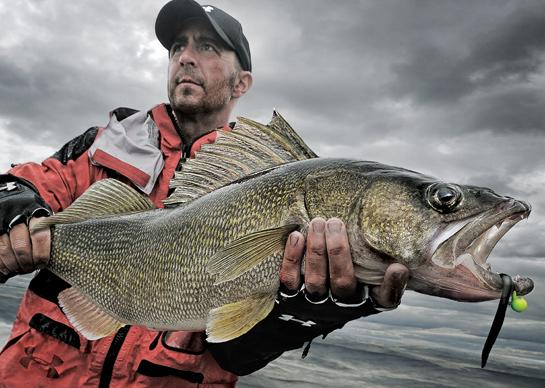 Fishing Fishing Tips: Where to Find Spring Walleyes.  Article by Ross Robertson posted April 8, 2013