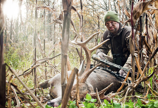 Hunting How to Blood Trail and Track Wounded Deer.  Article by Doug Howlett