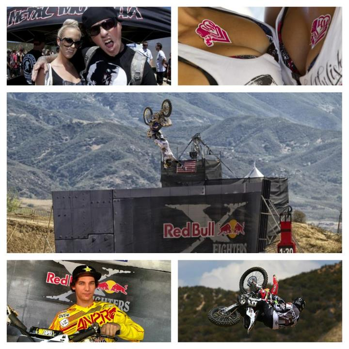 Motorsports Make sure to visit www.metalmulisha.com and scope out all the photos from this weekends Red Bull X Fighters with Todd Potter, Rob Adelberg, Wes Agee and the Mulisha Maidens.