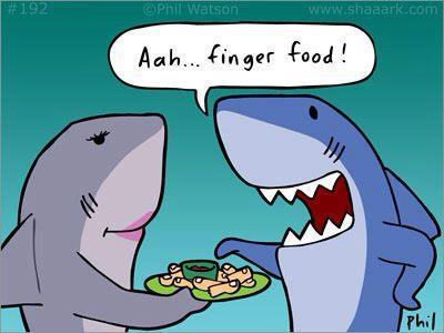 Entertainment Meme Monday! Any one hungry for finger food? Ha!