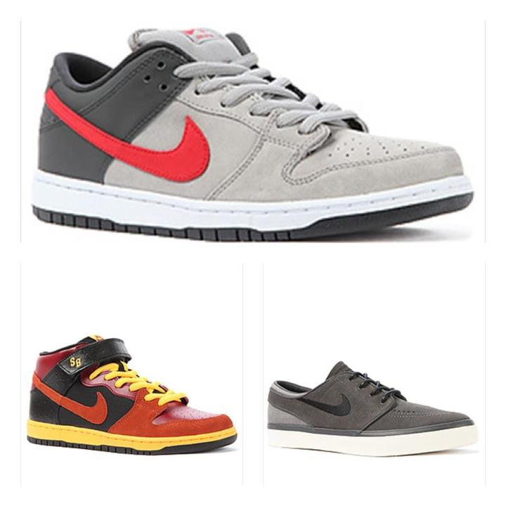 Skateboard The rad new Nike Skateboarding kicks keep rolling in.