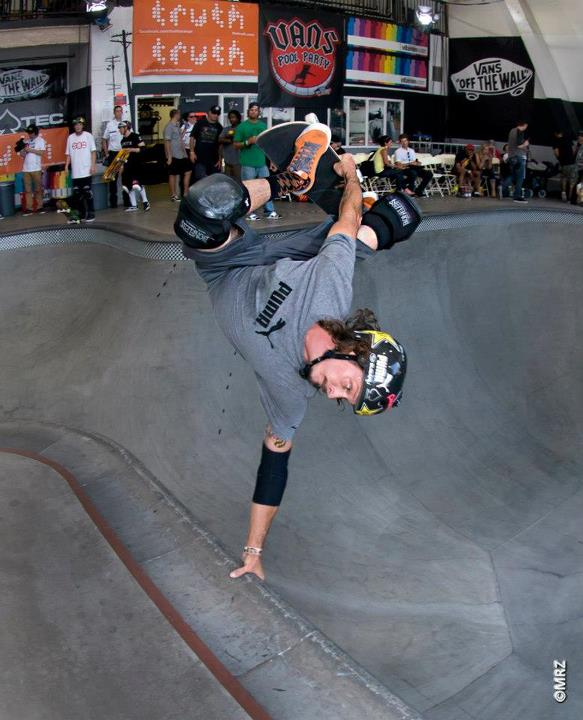 Skateboard Bucky Lasek - See more at http://vans.com/poolparty - Photo: MRZ