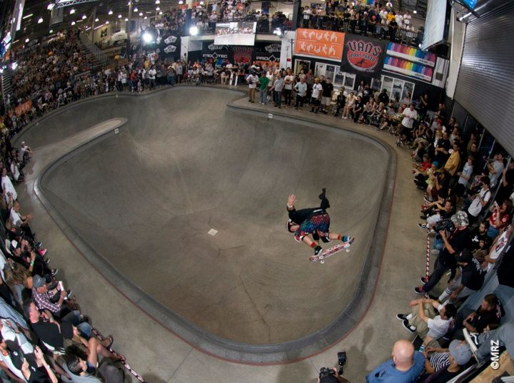 Skateboard Christian Hosoi - See more at http://vans.com/poolparty - Photo: MRZ