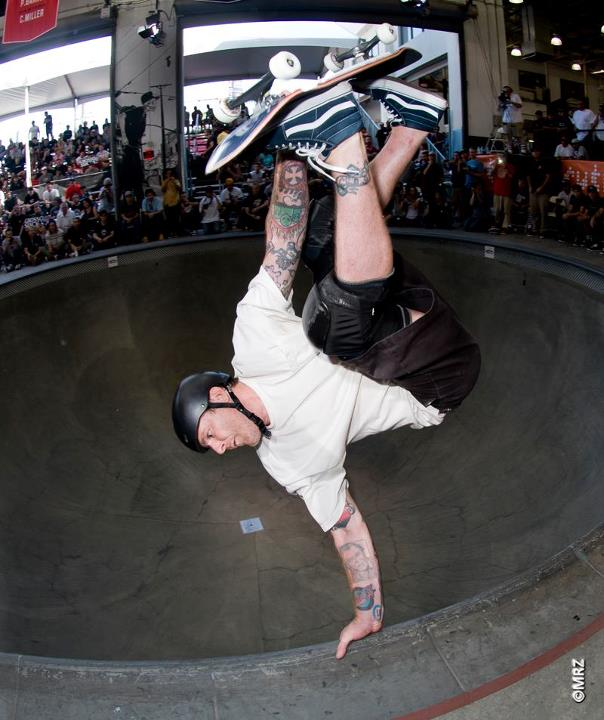 Skateboard Jeff Grosso - See more at http://vans.com/poolparty - Photo: MRZ