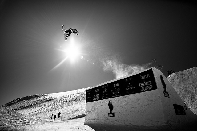 Snowboard burn slopestyle 2012