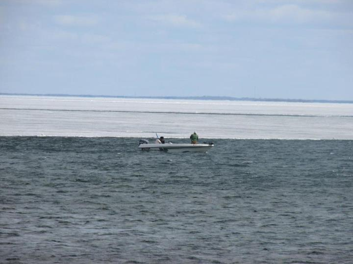 Fishing One boat counted by Outdoor News on the 100 yards of open water from shore on Lake Mille Lacs Saturday!  Let's hope for a better weekend of fishing this week!