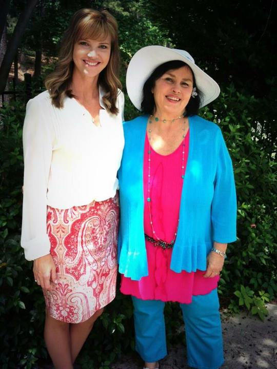 Entertainment Check out Missy and Miss Kay celebrating Mother's Day yesterday. Such lovely ladies.