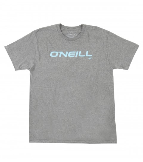 Surf O'Neill Only One Tee.  50% Cotton / 50% Poly.  30 singles modern fit heather tee with softhand screenprint. - $15.99