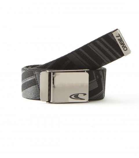 Surf O'Neill Zenith Belt.  Webbing belt with metal logo buckle. - $9.99