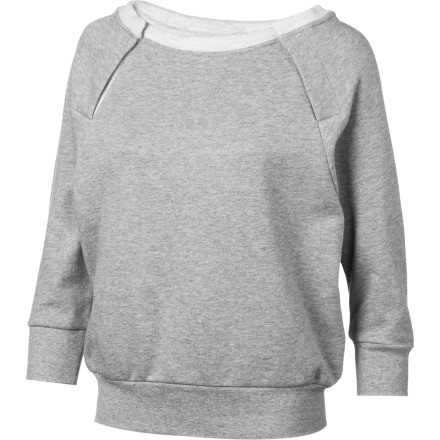 SUPERbrand Dolman Fleece Pullover Sweatshirt - Women's - $17.39