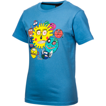 Skateboard Volcom Kid Creature FA T-Shirt - Short-Sleeve - Little Boys' - $17.95