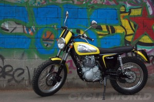 Auto and Cycle BORILE B450 SCRAMBLER – FIRST LOOK.  Article by Bruno dePrato posted May 14, 2013
