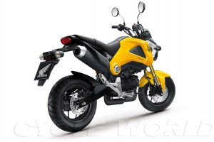 Auto and Cycle 2014 HONDA MSX125 – FIRST LOOK.  Article by Matthew Miles posted May 13, 2013