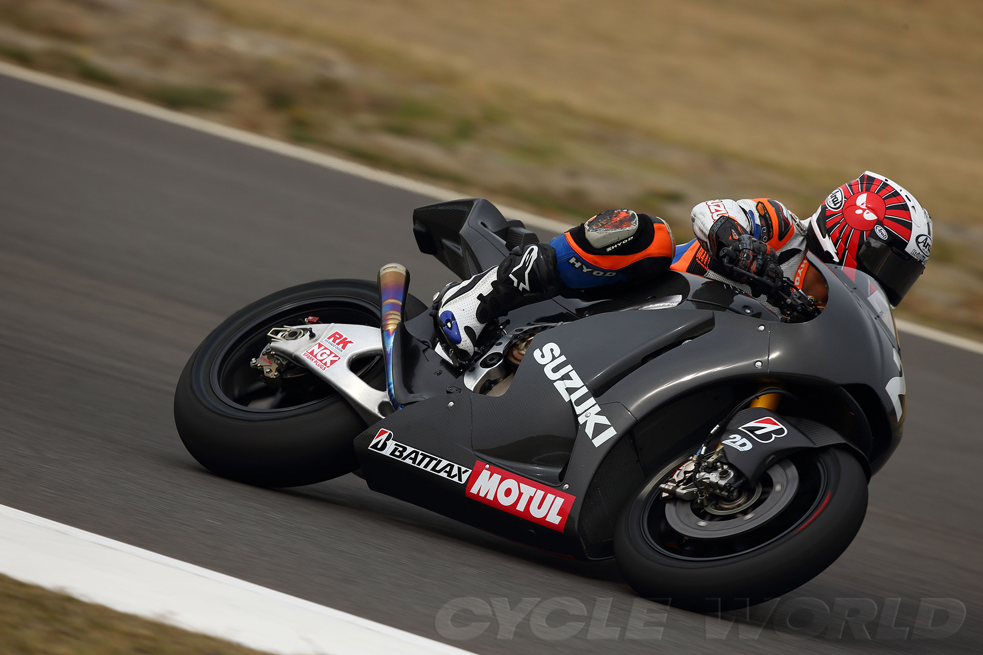 Auto and Cycle 2014 SUZUKI MOTOGP PROTOTYPES SPIED AGAIN!  Article by Kevin Cameron posted May 1, 2013