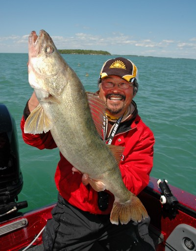 Fishing Big Water Walleye Expert Bruce DeShano Gives Up His Best Secrets