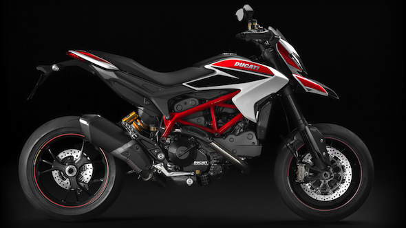 Auto and Cycle DUCATI HYPERMOTARD HITS U.S. SHORES.  Article by Blake Conner posted April 26, 2013