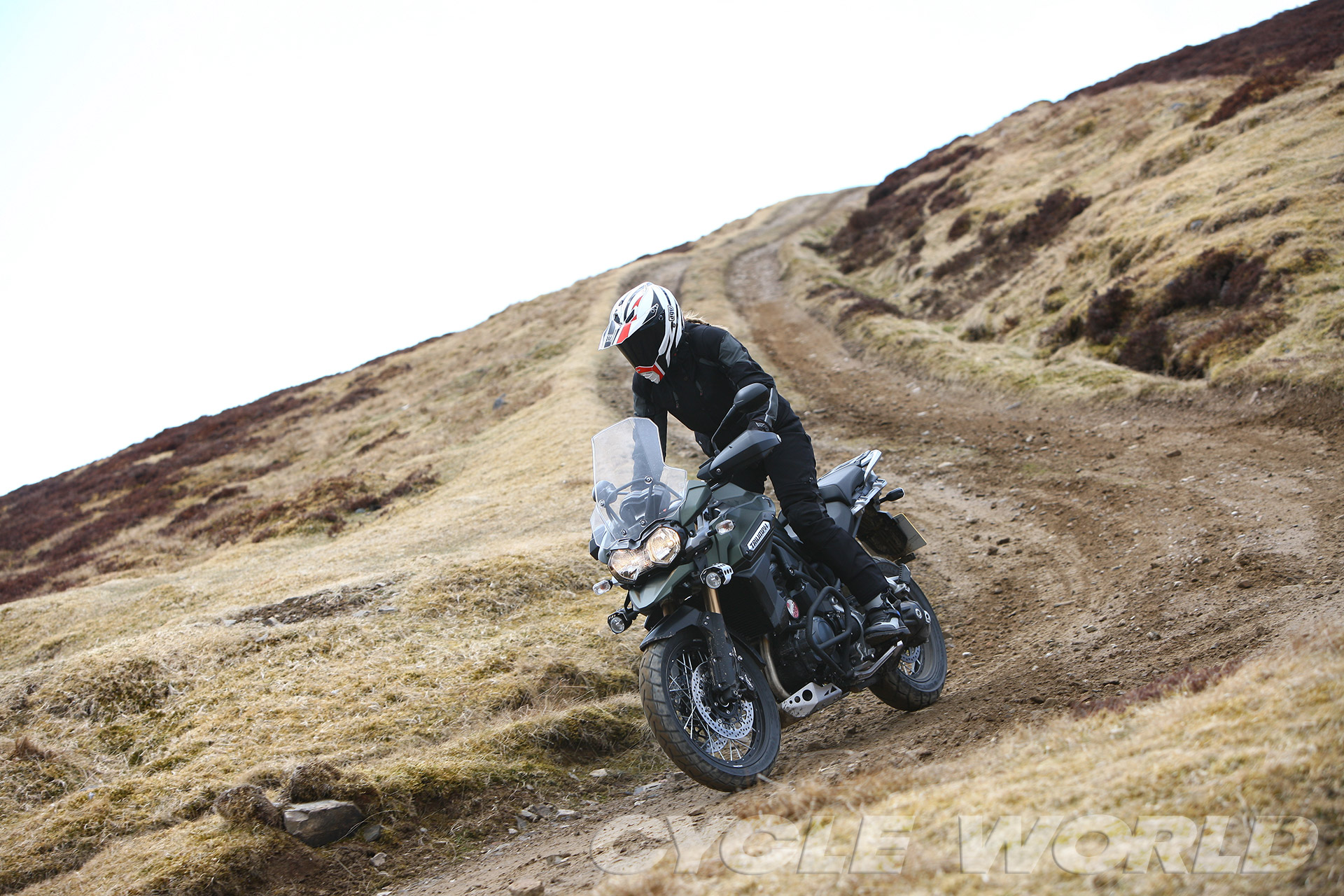 Auto and Cycle 2014 TRIUMPH EXPLORER XC – FIRST RIDE