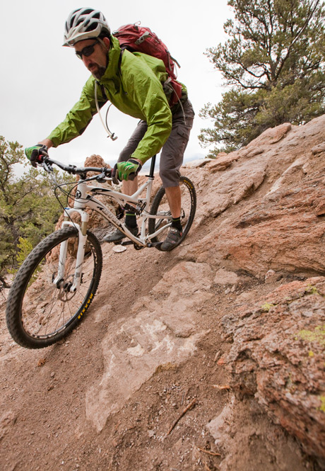MTB Salida's Sweet Singletrack.  Article by Leslie Kehmeier posted May 6, 2013