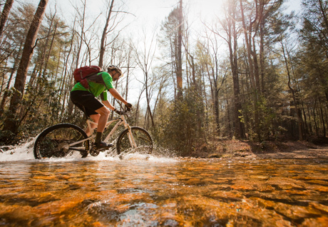 MTB Controlled Burn: A Leg-Searing Ride in the Mountains of Georgia.  Article by Leslie Kehmeier posted March 2013