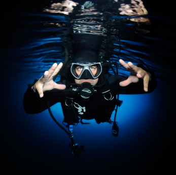 Scuba Is Scuba Diving Dangerous?  Article by Divemaster Dennis posted April 30, 2013