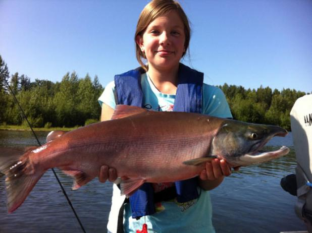 Fishing The Alaska Salmon Bind.  Article by Peter B. Mathiesen posted May 9, 2013