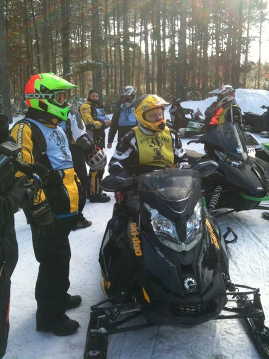 Snowmobile X-Team racing legend Blair Morgan is being inducted into the Snowmobile Hall of Fame tonight. Here he is on today's Ride with the Champs.  Congrats 7c, and thanks for all you did for Ski-Doo!